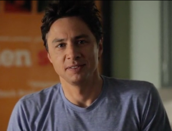 Zach Braff's successful independent film project by crowdfunding