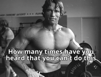 Schwarzenegger's 6 rules of success
